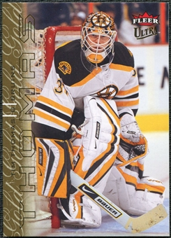 2009/10 Fleer Ultra Gold Medallion #12 Tim Thomas
