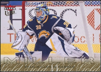 2009/10 Fleer Ultra Gold Medallion #18 Ryan Miller