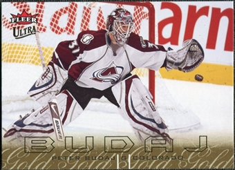 2009/10 Ultra Gold Medallion #38 Peter Budaj