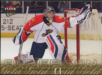 2009/10 Fleer Ultra Gold Medallion #65 Craig Anderson