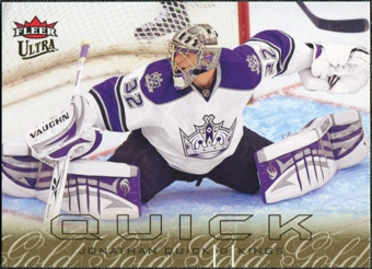2009/10 Ultra Gold Medallion #72 Jonathan Quick