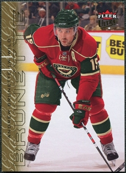 2009/10 Fleer Ultra Gold Medallion #77 Andrew Brunette