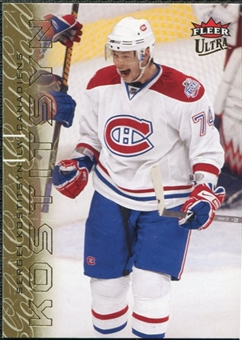2009/10 Fleer Ultra Gold Medallion #81 Sergei Kostitsyn