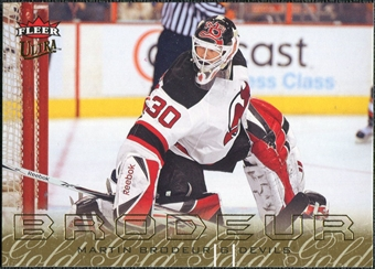 2009/10 Fleer Ultra Gold Medallion #88 Martin Brodeur