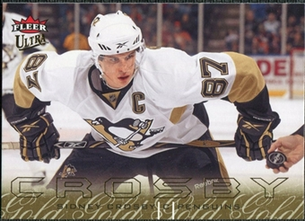 2009/10 Fleer Ultra Gold Medallion #117 Sidney Crosby