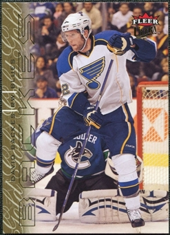 2009/10 Fleer Ultra Gold Medallion #130 David Backes
