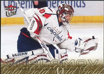 2009/10 Fleer Ultra Gold Medallion #151 Simeon Varlamov