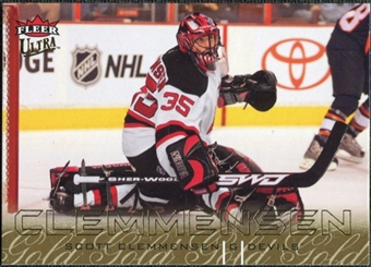 2009/10 Fleer Ultra Gold Medallion #175 Scott Clemmensen