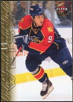 2009/10 Ultra Gold Medallion #184 Stephen Weiss