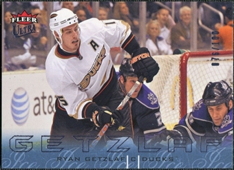 2009/10 Fleer Ultra Ice Medallion #1 Ryan Getzlaf /100