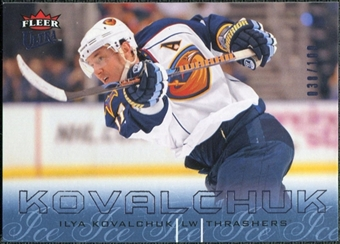 2009/10 Fleer Ultra Ice Medallion #6 Ilya Kovalchuk /100