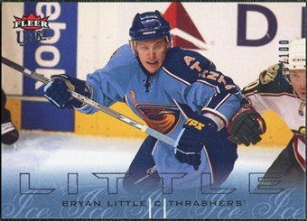 2009/10 Fleer Ultra Ice Medallion #8 Bryan Little /100
