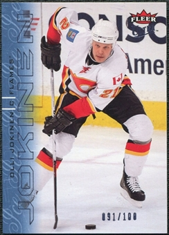 2009/10 Fleer Ultra Ice Medallion #26 Olli Jokinen /100