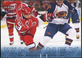 2009/10 Fleer Ultra Ice Medallion #27 Ray Whitney /100