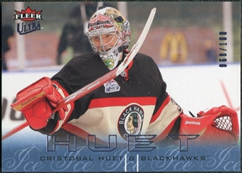 2009/10 Fleer Ultra Ice Medallion #34 Cristobal Huet /100