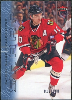 2009/10 Fleer Ultra Ice Medallion #36 Patrick Sharp /100
