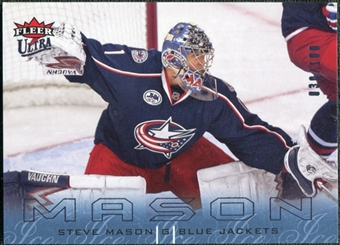 2009/10 Fleer Ultra Ice Medallion #43 Steve Mason /100