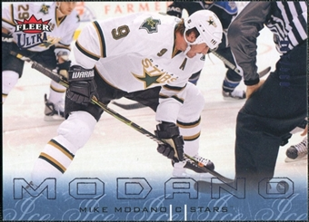 2009/10 Fleer Ultra Ice Medallion #49 Mike Modano /100