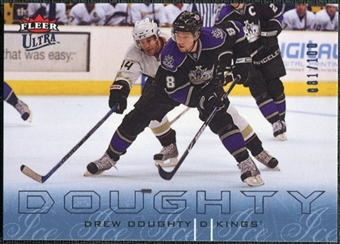 2009/10 Fleer Ultra Ice Medallion #71 Drew Doughty /100