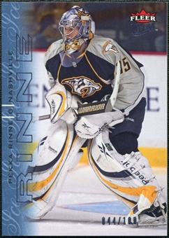2009/10 Fleer Ultra Ice Medallion #86 Pekka Rinne /100