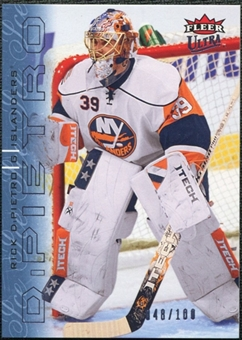 2009/10 Fleer Ultra Ice Medallion #95 Rick DiPietro /100