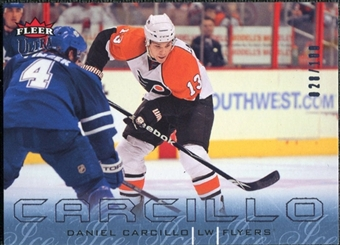2009/10 Fleer Ultra Ice Medallion #109 Daniel Carcillo /100