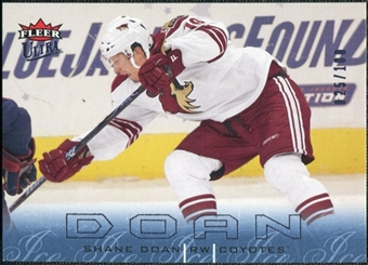 2009/10 Fleer Ultra Ice Medallion #111 Shane Doan /100