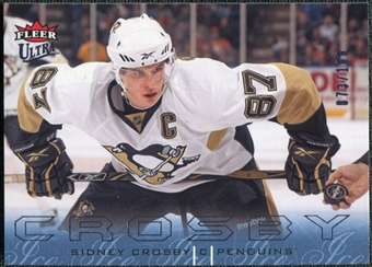 2009/10 Fleer Ultra Ice Medallion #117 Sidney Crosby /100