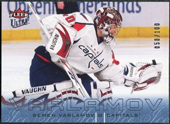 2009/10 Fleer Ultra Ice Medallion #151 Simeon Varlamov /100