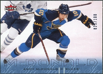 2009/10 Fleer Ultra Ice Medallion #159 Andy McDonald /100