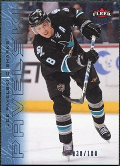 2009/10 Fleer Ultra Ice Medallion #160 Joe Pavelski /100