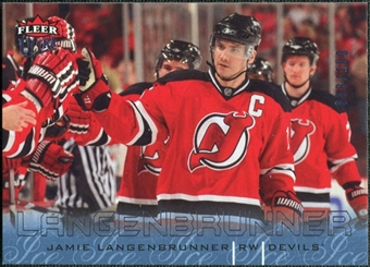 2009/10 Fleer Ultra Ice Medallion #174 Jamie Langenbrunner /100