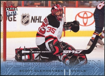 2009/10 Fleer Ultra Ice Medallion #175 Scott Clemmensen /100