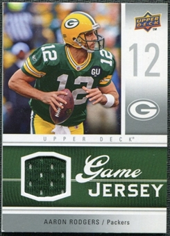 2009 Upper Deck Game Jersey #GJAR Aaron Rodgers