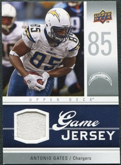 2009 Upper Deck Game Jersey #GJAG Antonio Gates