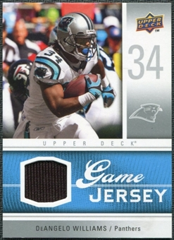 2009 Upper Deck Game Jersey #GJDW DeAngelo Williams