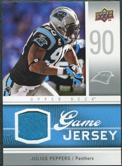 2009 Upper Deck Game Jersey #GJJP Julius Peppers