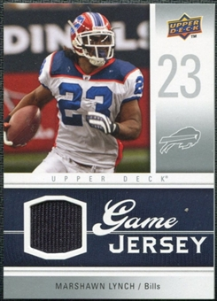 2009 Upper Deck Game Jersey #GJML Marshawn Lynch