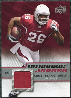 2009 Upper Deck Rookie Jersey #RJCW Chris Wells