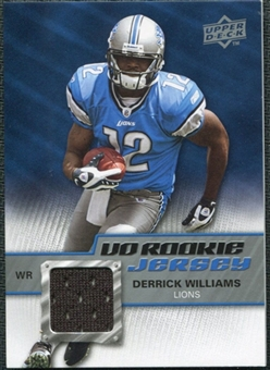2009 Upper Deck Rookie Jersey #RJDW Derrick Williams