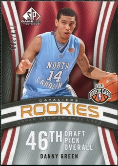 2009/10 Upper Deck SP Game Used #108 Danny Green RC /399