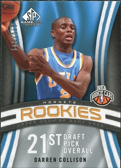 2009/10 Upper Deck SP Game Used #110 Darren Collison RC /399