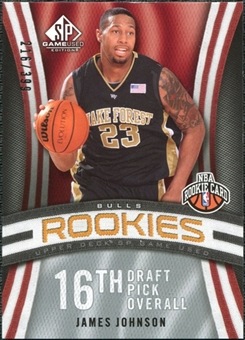2009/10 Upper Deck SP Game Used #119 James Johnson RC /399
