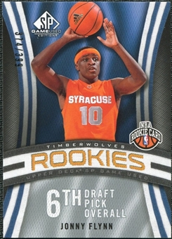 2009/10 Upper Deck SP Game Used #122 Jonny Flynn RC /399