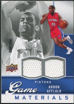 2009/10 Upper Deck Game Materials #GJAA Arron Afflalo /550