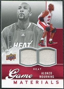 2009/10 Upper Deck Game Materials #GJAM Alonzo Mourning /400