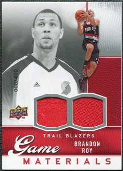 2009/10 Upper Deck Game Materials #GJBR Brandon Roy /400