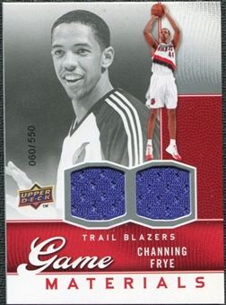 2009/10 Upper Deck Game Materials #GJCF Channing Frye /550
