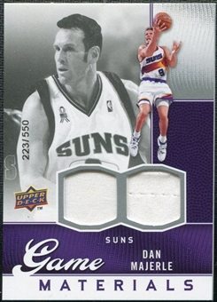 2009/10 Upper Deck Game Materials #GJDA Dan Majerle /550