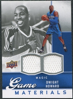 2009/10 Upper Deck Game Materials #GJDH Dwight Howard /545